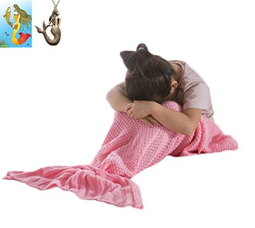 Kpblis®Summer Mermaid Super Soft Blanket for Children Kids 56