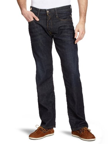 Replay Billstrong Straight Men's Jeans Night Blue 32W x 32L