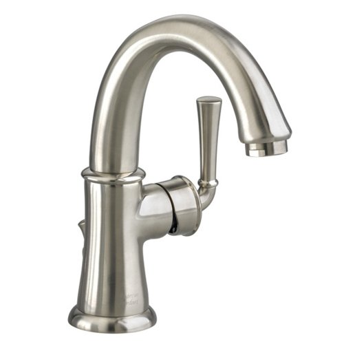 American Standard 7420.101.295 Portsmouth Monoblock Lavatory Faucet with Speed Connect Drain with Lever Handle, Swivel Spout, Satin Nickel (American Standard Faucet Nickel compare prices)