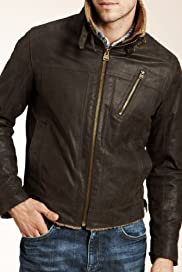 North Coast Leather Aviator Jacket [T16-1103N-S]