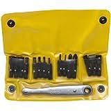 Chapman MFG #1316 All Purpose Soft Pack American Made Ratchet Screwdriver Set