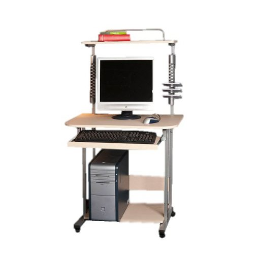 Computer desk with CD Tower and keyboard drawer FREE DELIVERY