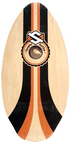 Skim One Encinitas Wooden Skimboard Orange orange Size:105cm by Skimone