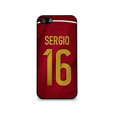 Sergio Busquets - Spain Samsung Galaxy S4 Soft Rubber Case