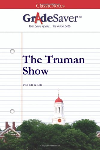 the truman show essays gradesaver the truman show peter weir