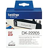 Brother Endlos-Etikett (Papier) weiß, 62mm x 30,48m