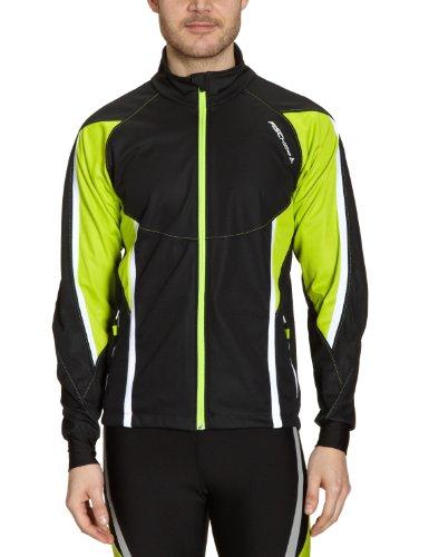 FISCHER Uni Warm Up Jacke Selbu, schwarz/gelb, XL, G20511