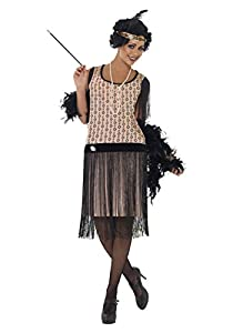 Women's Plus Size 1920s Coco Flapper Costume 1X