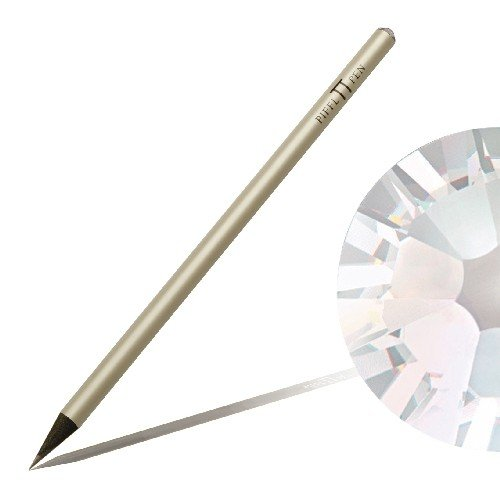 Bleistift mit SWAROVSKI ELEMENTS Piffl Pen weiß mit Crystal Moonlight (001 MOL)