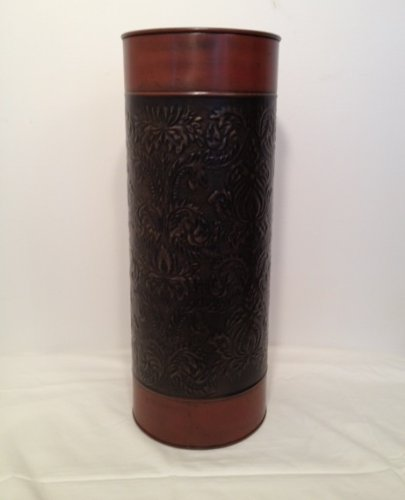 Brass Umbrella Stand Embossed: Hodeac: Shop For Home Decor Accessories Online