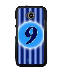 Fuson 2D Printed Numerology Designer back case cover for Motorola Moto E2 - D4227