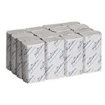 Georgia-Pacific Signature 21000 White 2-Ply Premium Multifold Paper Towel 9.4 Length x 9.2 Width (Case of 16 Packs 125 per Pack)