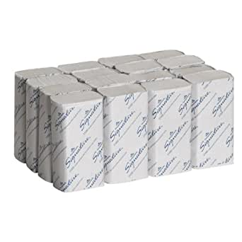Georgia-Pacific GEP21000 Signature 2-Ply Premium Multifold Paper Towel, White, 9.4-inch x 9.2-inch (Case of 16 Packs, 125 per Pack)