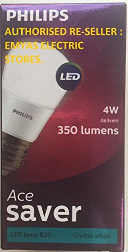 Philips-4W-E27-LED-Bulb-(Cool-Day-Light,-Pack-Of-2)