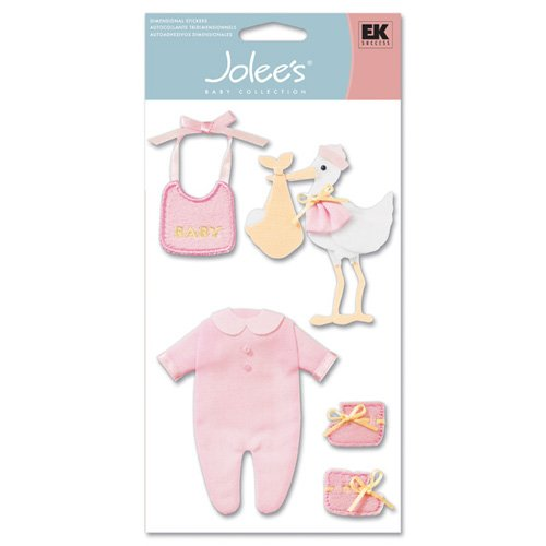 Ek Success Jolee'S Baby Collection Embellishments-Girl Clothes front-1061102