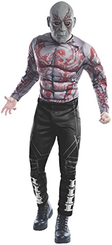 Rubie's Men's Marvel Universe Guardians Of The Galaxy Drax The Destroyer Costume