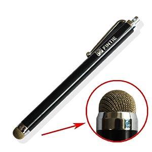 Fintie (Black) Capacitive Stylus Pen for Kindle Fire, Kindle Fire HD 7 8.9, Google Nexus 7, iPad Mini, iPad 2, iPad 3 (the new iPad), iPhone 5 4S, Galaxy S 3