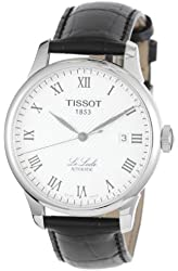 Tissot Men's TIST41142333 Le Locle Analog Display Swiss Automatic Black Watch
