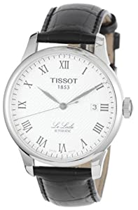 Tissot Watches Tissot T Classic Le Locle Automatic Case Back Transparent Men's Watch