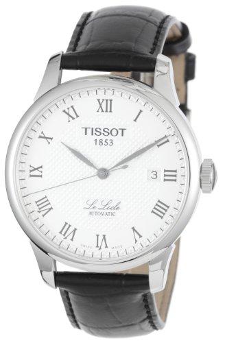 Tissot Watches Tissot T Classic Le Locle Automatic Case Back Transparent Men's Watch