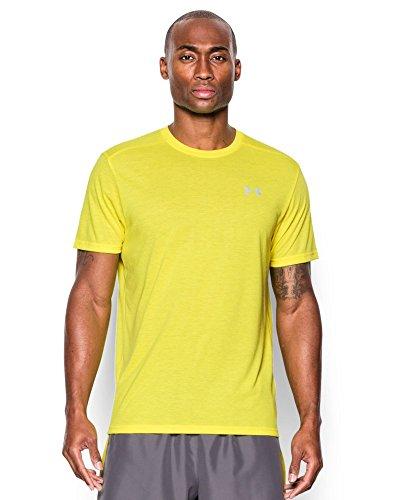 Under Armour Men's UA Streaker Run Short Sleeve T-Shirt X-Large Flash Light