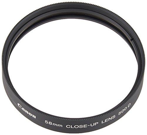 Canon 2822A001AA Bonnette Macro 500 D 58mm pour pour objectif 58 mm