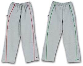 Anaconda Sports® ZIPP-PR Adult Fleece Pants with Piping and The Rock® Logo on Bottom Left Leg
