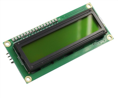 USPRO® IIC/I2C/TWI Serial 1602 16x2 LCD Display Module Shield Yellow Back Light for Arduino UNO MEGA R3