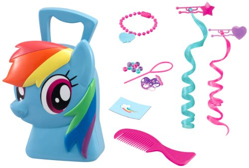 My Little Pony - Rainbow Hair Styling Case, maletín, color azul (HTI VHTI_1680805)