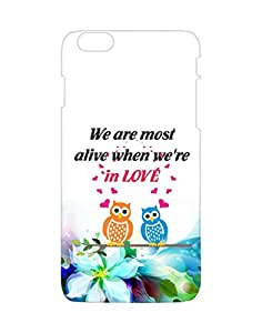 Mobifry Back case cover for Apple iPhone 6 Plus Mobile (Printed design)
