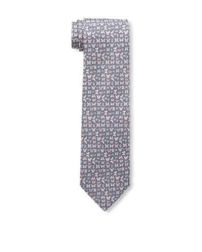 Salvatore Ferragamo Men's Butterfly Tie, Antracite