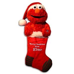 Sesame Street Elmo Musical Christmas Stocking