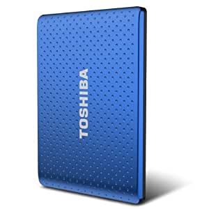 Toshiba Automatic Backup 500 GB USB 3.0 Portable Hard Drive - PH2050U-1EWL (Blue)