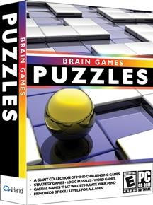 BRAIN GAMES PUZZLES - ON HAND SOFTWARE (WIN ME2000XPVISTA)