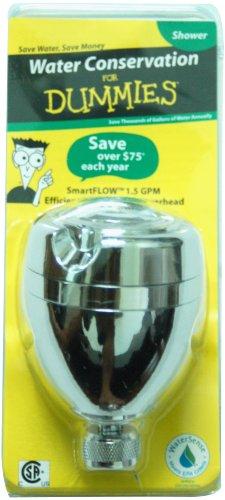 SmartFLOW PF0555 WaterSense Three Spray Pattern, Swivel, Water Saving Efficient Massaging Showerhead - Chrome Finish - 1.5 GPM (Water Saver Shower Aerator compare prices)