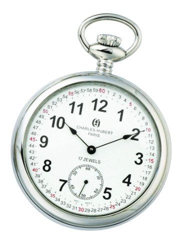 Charles-hubert, Paris Charles-hubert Paris Open Face Mechanical Pocket Watch