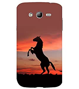 printtech Nature Animal Horse Stallion Back Case Cover for Samsung Galaxy Grand Neo Plus / Samsung Galaxy Grand Neo Plus i9060i
