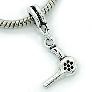 "Amazon.com: Pro Jewelry Dangling ""Hair Dryer"" Charm Bead for Snake"