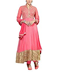 Jiya Women Net Dress(BTSTDRY9065 ,Gajari)