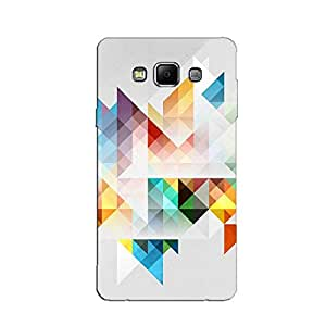COLORFUL TRIANGLES BACK COVER FOR SAMSUNG E5