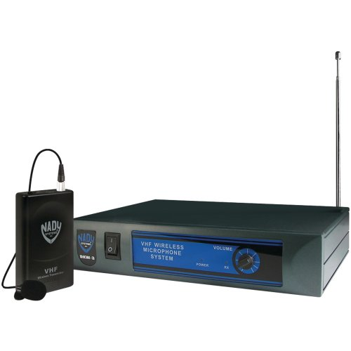 Nady Dkw-3 Lt/O/B Vhf Single Receiver Lavaliere Microphone System