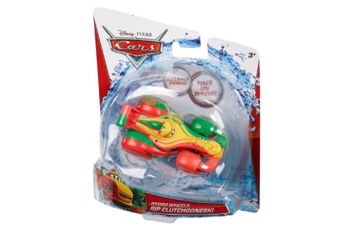 Disney/Pixar Cars, Hydro Wheels, Rip Clutchgoneski Bath Vehicle - 1