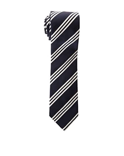 Hackett London Corbata Seda Mogador 3 Bar Stripe