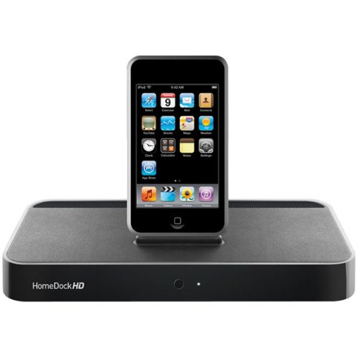 DLO HomeDock HD Entertainment Dock for iPod (Black)