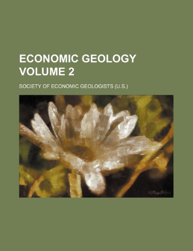 Economic geology Volume 2