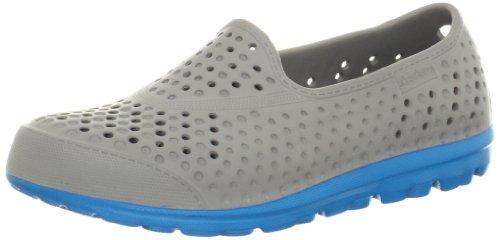 Skechers Womens h2 GO Slipper Gray Grau (CCTQ) Size: 39