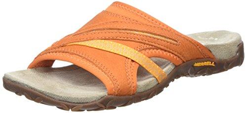 MerrellTerran Slide Ii - Sandali donna , Arancione (Arancio (arancione)), 39 EU