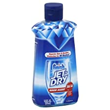 Jet-Dry Shine Boost Rinse Agent, Orange Scent, 8.45 oz.