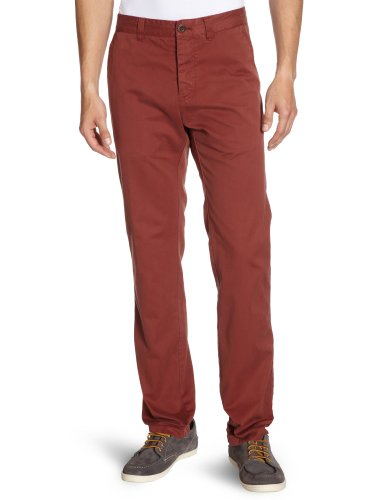 Marc O'Polo Men's 227 0024 10054 Trousers Red (355 Rust) 48