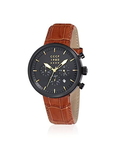 CCCP Men's CP-7007-07 Kashalot Brown Leather Watch